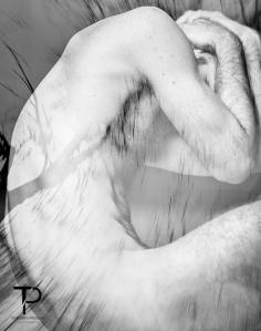 #surimpression #corps #masculin #noir&blanc #body #male #black&white #nu #nude